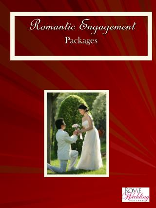Romantic Engagement Packages