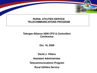 RURAL UTILITIES SERVICE TELECOMMUNICATIONS PROGRAM