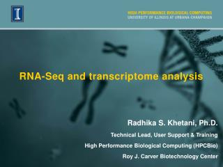RNA-Seq and transcriptome analysis