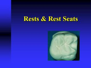 Rests & Rest Seats