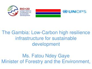 The Gambia: Low-Carbon high resilience infrastructure for sustainable development