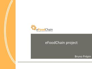 eFoodChain  project