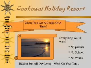Cookowai Holiday Resort