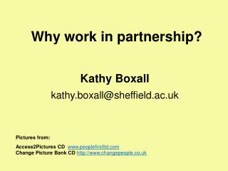 Why work in partnership?