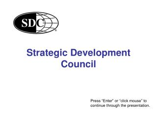 Strategic Development Council