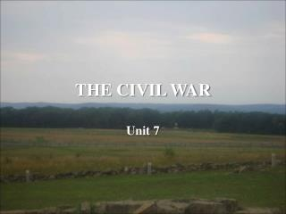 THE CIVIL WAR