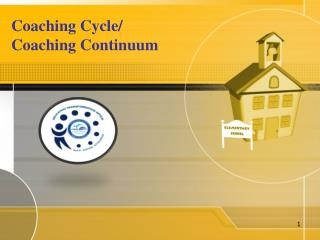 Coaching Cycle/ Coaching Continuum