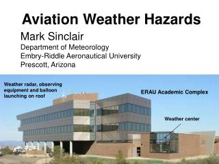 Aviation Weather Hazards