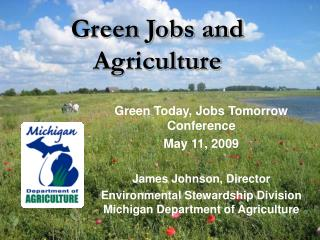 Green Jobs and Agriculture
