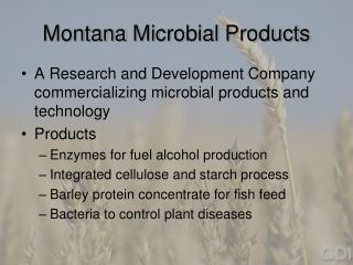 Montana Microbial Products