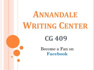 Annandale Writing Center