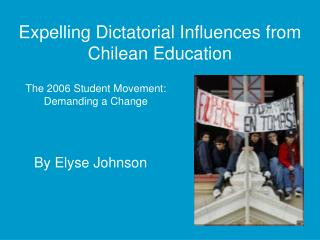Expelling Dictatorial Influences from Chilean Education