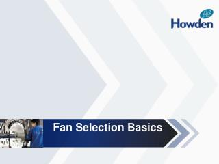 Fan Selection Basics