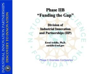 Phase II Grantees Conference