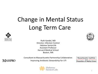 Change in Mental Status  Long Term Care