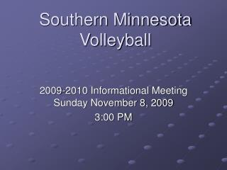 Southern Minnesota Volleyball