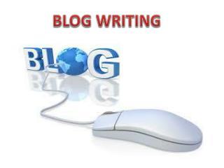 Blog Writing By GOIGI