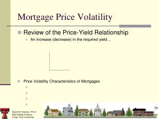 Mortgage Price Volatility
