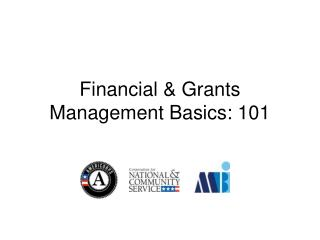 Financial & Grants Management Basics: 101
