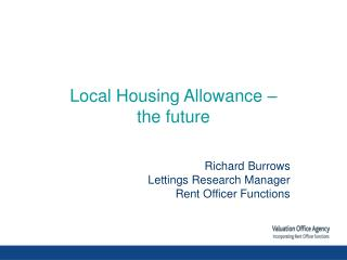 Local Housing Allowance –  the future