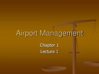 Airport Management