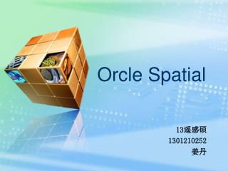 Orcle Spatial