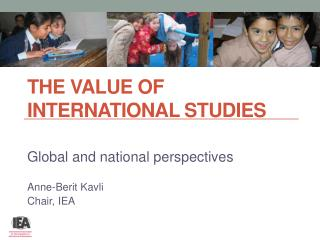 The value of international  studies