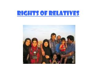 Rights of Relatives