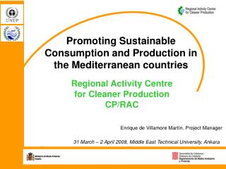Promoting Sustainable Consumption and Production in the Mediterranean countries