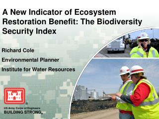 A New Indicator of Ecosystem Restoration Benefit: The Biodiversity Security Index