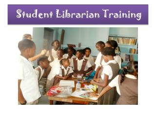 Student Librarian Training