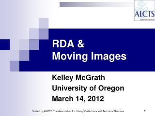 RDA &  Moving Images