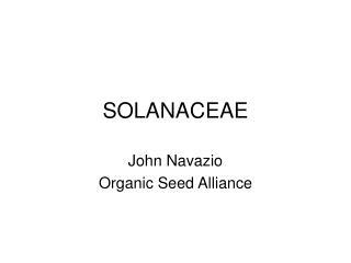 SOLANACEAE