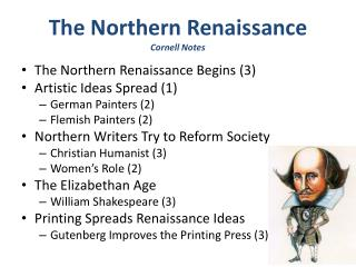 The Northern Renaissance Cornell Notes