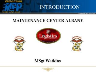 MAINTENANCE CENTER ALBANY