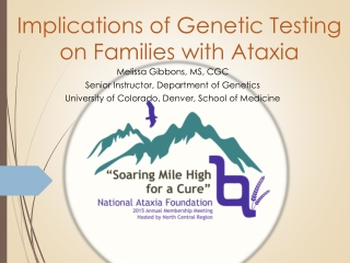Implications of Genetic Testing on Families with Ataxia