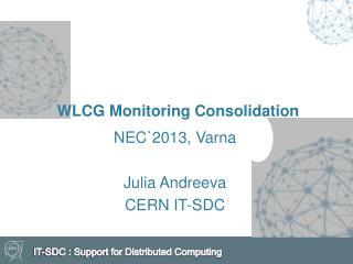 WLCG Monitoring Consolidation