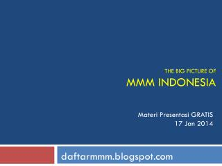 THE BIG PICTURE OF MMM INDONESIA