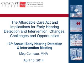 13 th  Annual Early Hearing Detection & Intervention Meeting