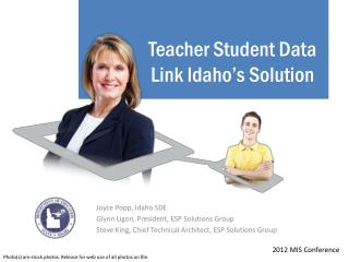 Teacher Student Data Link Idaho's Solution