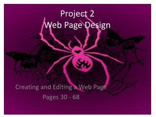 Project 2 Web Page Design