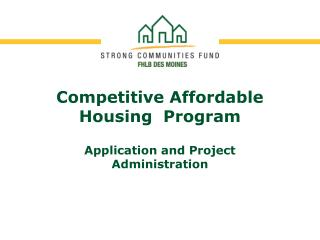 Competitive Affordable Housing  Program