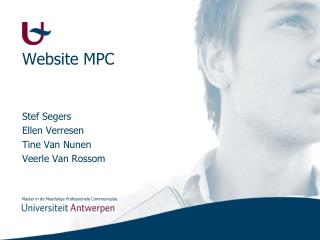 Website MPC