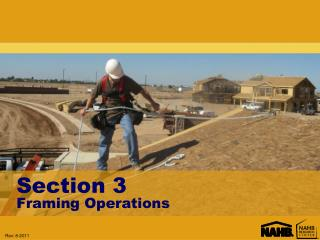 Section 3 Framing Operations