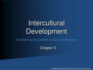 Intercultural Development