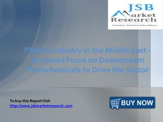 JSB Market Research: Plastics Industry in the Middle East
