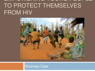 Empowering young people to protect themselves from HIV