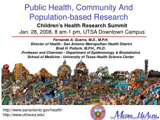 Public Health, Community And Population-based Research