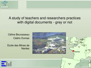 A study of teachers and researchers practices with digital documents - grey or not