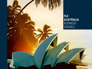 Fiji Australia Business Council Forum – 2008
